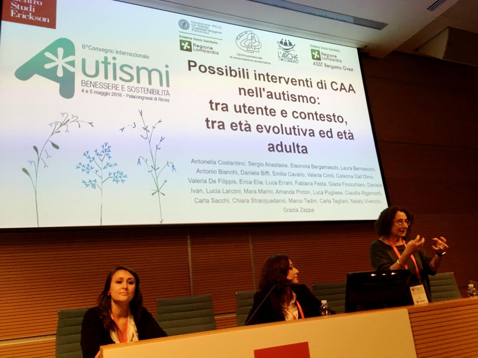Carla Tagliani, Mara Marini, Antonella Costantino, Csca